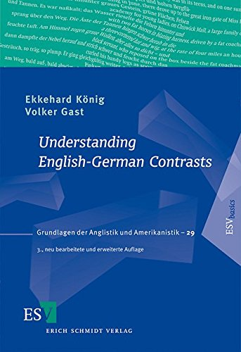 9783503137268: Understanding English-German Contrasts