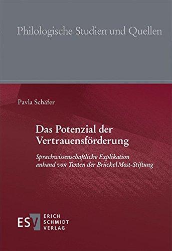 Das Potenzial der Vertrauensförderung: Pavla Schäfer