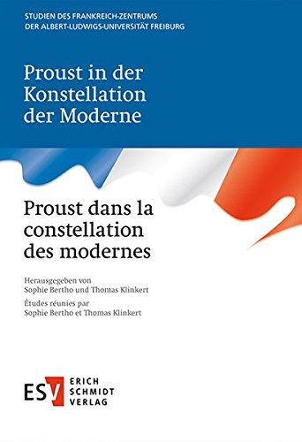 9783503137886: Proust in der Konstellation der Moderne - Proust dans la constellation des modernes