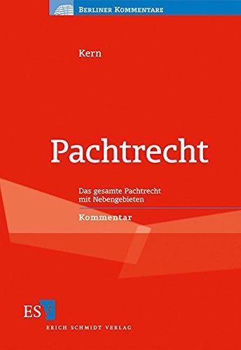 Pachtrecht: Christoph Kern