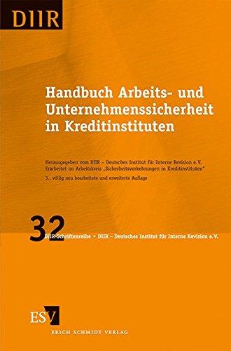 Handbuch Arbeits- und Unternehmenssicherheit in Kreditinstituten