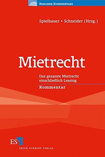 Mietrecht: Rudolf Kellendorfer