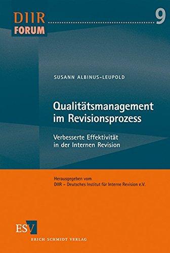 Qualitätsmanagement im Revisionsprozess: Susann Albinus-Leupold