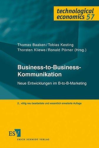Business-to-Business-Kommunikation: Thomas Baaken