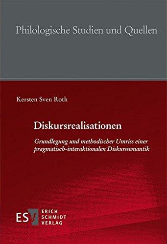 Diskursrealisationen: Kersten Sven Roth