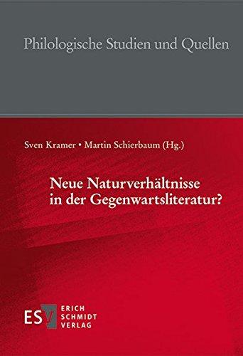 9783503155675: Neue Naturverhältnisse in der Gegenwartsliteratur?