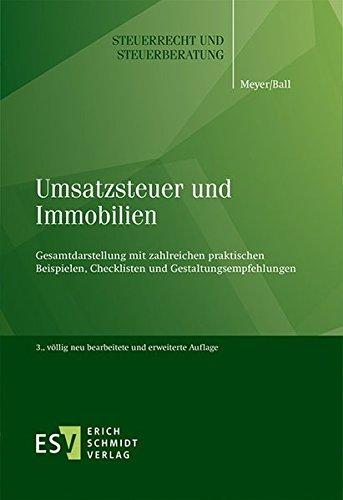 Umsatzsteuer und Immobilien: Bernd Meyer