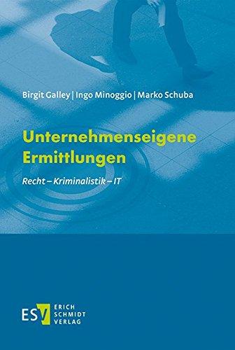 Unternehmenseigene Ermittlungen: Birgit Galley