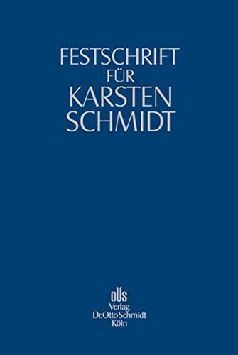 Festschrift für Karsten Schmidt: Georg Bitter