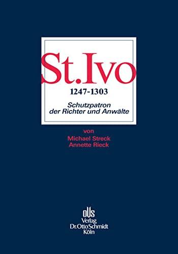 9783504061326: St. Ivo (1247-1303): Schutzpatron der Richter und Anwälte