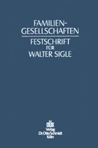 Familiengesellschaften: Peter Hommelhoff
