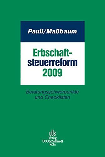 Erbschaftsteuerreform 2009: Michael Maßbaum