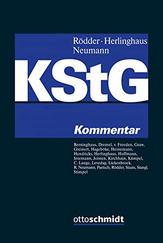 Körperschaftsteuergesetz: Thomas Rödder