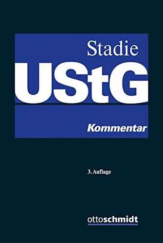Umsatzsteuergesetz: Holger Stadie