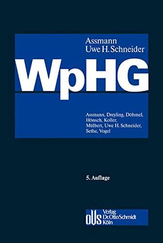 9783504400873: Wertpapierhandelsgesetz (WpHG)