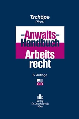 9783504420383: Anwalts-Handbuch Arbeitsrecht