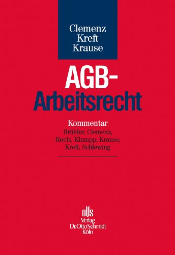AGB-Arbeitsrecht: Susanne Clemenz