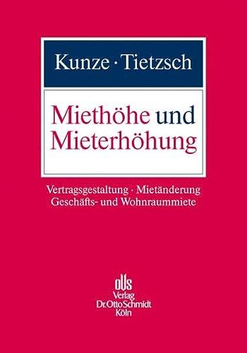Miethöhe und Mieterhöhung: Catharina Kunze