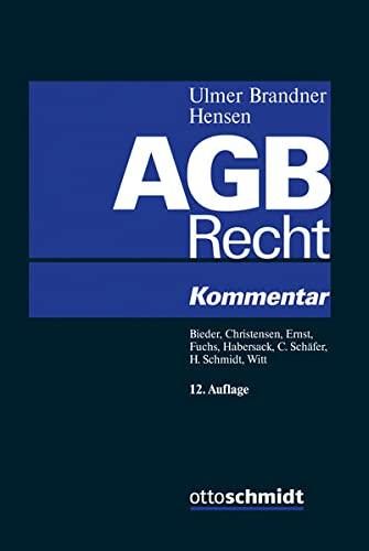 AGB-Recht: Peter Ulmer