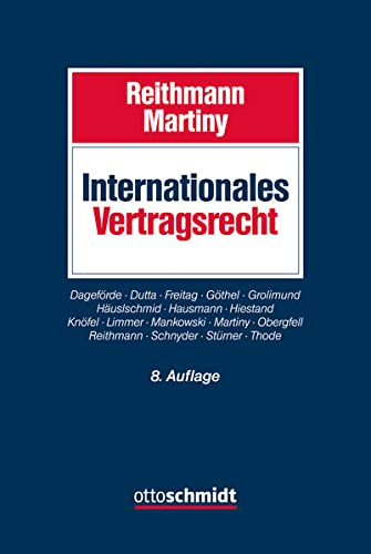 Internationales Vertragsrecht: Christoph Reithmann