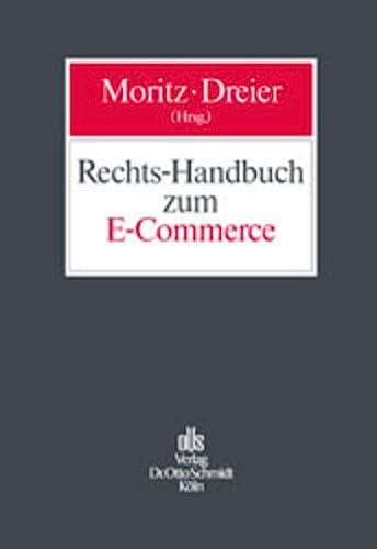 9783504560164: Rechts-Handbuch zum E-Commerce