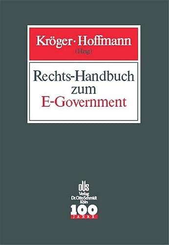 Rechts-Handbuch zum E-Government: Detlef Kr�ger