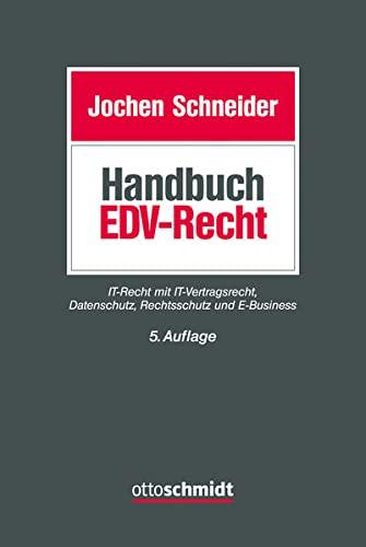 9783504560942: Handbuch des EDV-Rechts