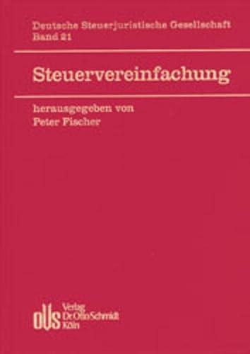 Steuervereinfachung: Peter Fischer