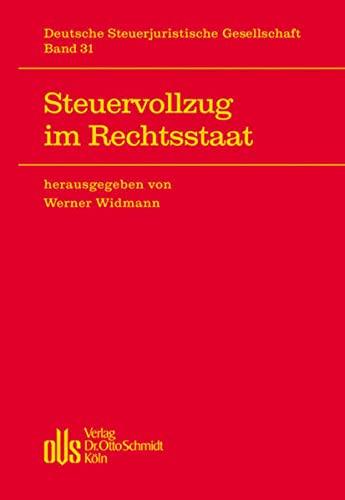 Steuervollzug im Rechtsstaat (Hardback)