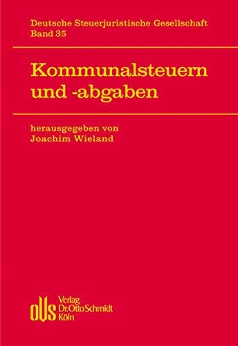 Kommunalsteuern und -abgaben: Joachim Wieland
