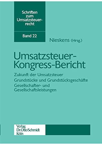 Umsatzsteuer-Kongress-Bericht: Hans Nieskens