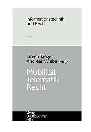 Mobilität-Telematik-Recht: Jürgen Taeger