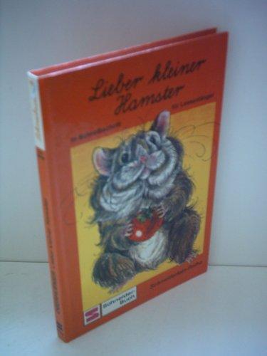 9783505077630: Lieber kleiner Hamster. Schreibschrift