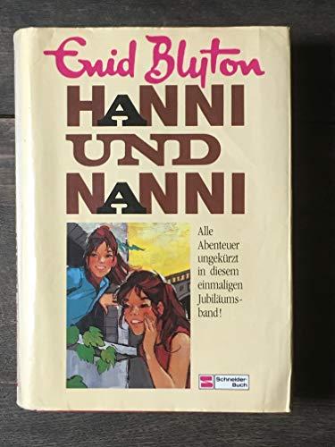 ENID BLYTON HANNI UND NANNI 17 Bände komplett in einem Buch Hanni und Nanni Hanni und Nanni ...