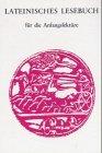 9783506100801: Lateinisches Lesebuch f�r die Anfangslekt�re