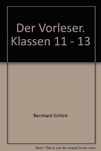 9783506222817: Der Vorleser. Klassen 11 - 13