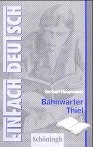 9783506223340: EinFach Deutsch, Bahnwärter Thiel