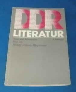 9783506253712: DDR-Literatur: Texte und Materialien