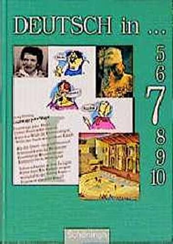 9783506289735: Deutsch in . . ., neue Rechtschreibung, Schülerbuch, 7. Schuljahr