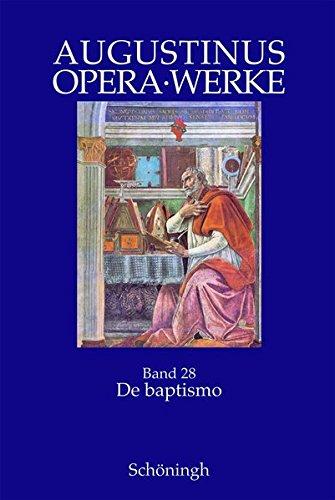 9783506713322: Opera - Werke: Augustinus: Opera Bd. 28: BD 28/1-4