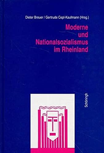 Moderne und Nationalsozialismus im Rheinland: Dieter Breuer