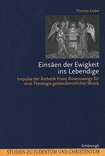 Einsäen der Ewigkeit ins Lebendige: Thomas Eicker