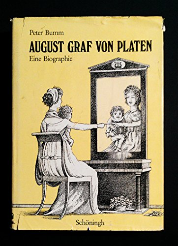 9783506718136: August Graf von Platen: Eine Biographie (German Edition)