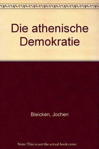 9783506719003: Die athenische Demokratie