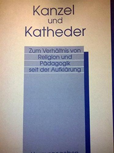 Kanzel und Katheder: Marian Heitger