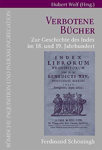 9783506763266: Verbotene Bücher: Zur Geschichte des Index im 18. und 19. Jahrhundert