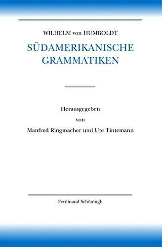 Wilhelm von Humboldt - Schriften zur Sprachwissenschaft 03. Wilhelm von Humboldt Sü...