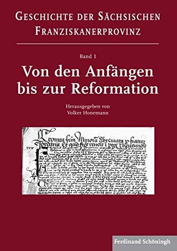 Von den Anfängen bis zur Reformation: Volker Honemann