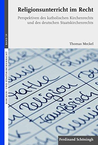 9783506771988: Religionsunterricht im Recht: Perspektiven des katholischen Kirchenrechts und des deutschen Staatskirchenrechts