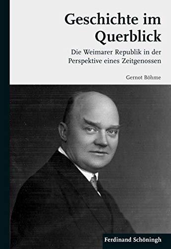 9783506773234: Geschichte im Querblick
